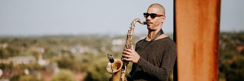 Event-saxophonist, Joel van de pol, traurednerin bochum, nrw, ruhrgebiet